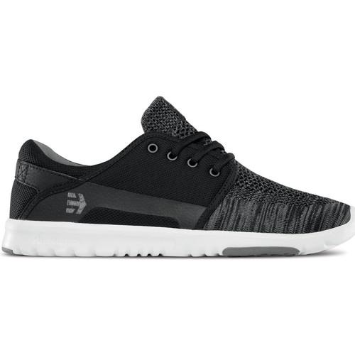 Etnies SCOUT YB BLACK GREY  - Livraison Gratuite avec  - Chaussures Chaussures de Skate