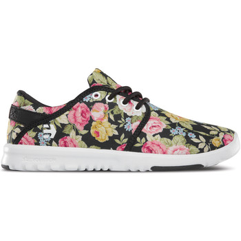 Chaussures Femme Baskets basses Etnies SCOUT WOS BLACK WHITE BLACK