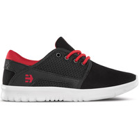 Chaussures Enfant Baskets mode Etnies KIDS SCOUT BLACK RED BLACK