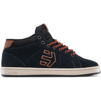 Chaussures Enfant Baskets montantes Etnies KIDS FADER MT NAVY BROWN WHITE