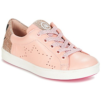 Chaussures Fille Baskets basses Acebo's VERAMET Rose