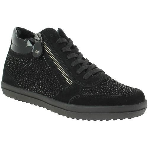 Chaussures Femme Baskets montantes Remonte Dorndorf r6687 noir