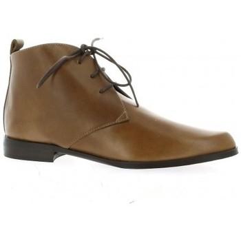 Chaussures Femme Boots Elizabeth Stuart Boots cuir Cognac
