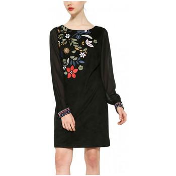 Vêtements Femme Robes courtes Desigual Robe Alfred Noir 17WWVW83 38