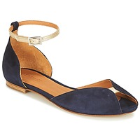 Chaussures Femme Sandales et Nu-pieds Emma Go JULIETTE Marine / Doré