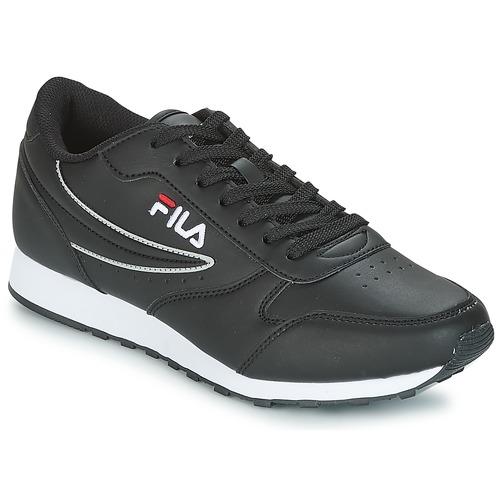 Fila ORBIT LOW Noir - Chaussures Baskets basses Homme 46 a4f883c28ad