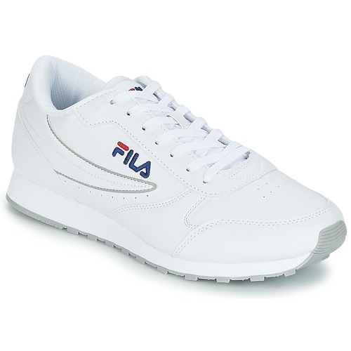02a5cd5733d Fila ORBIT LOW Blanc - Chaussures Baskets basses Homme 35