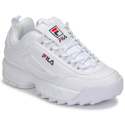 Wmn Disruptor Femme Basses Low Blanc Baskets Fila vN8nOmw0