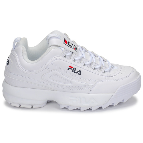 Fila Blanc Disruptor Wmn Baskets Low Basses Femme lKTF1Jc3u5