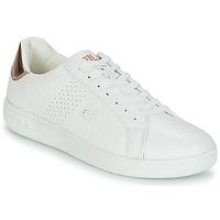 Chaussures Femme Baskets basses Fila CROSSCOURT 2 F LOW WMN Blanc / Rose gold