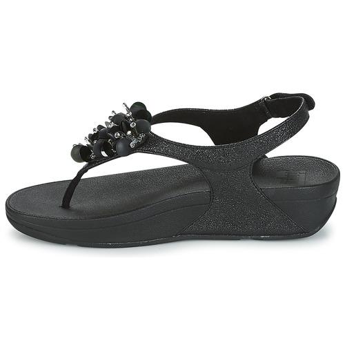 Back Et pieds Boogaloo Fitflop Sandales Strap Nu Femme Noir Sandal JlF51ucT3K