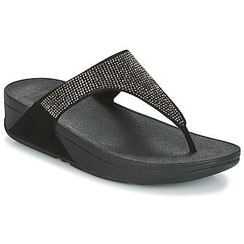 Chaussures Femme Tongs FitFlop SLINKY ROKKIT Noir