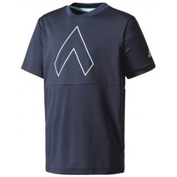 Vêtements Garçon T-shirts manches courtes adidas Originals - TEE SHIRT JUNIOR ACE Marine