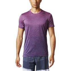 Vêtements Homme T-shirts manches courtes adidas Originals -  TEE-SHIRT SPORT FREELIFT GRAD VIOLET violet