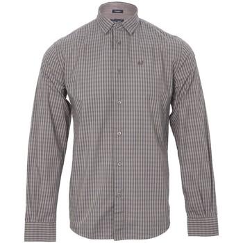 Vêtements Homme Chemises manches longues Armani jeans CHEMISE U6C25 Marron / Bleu