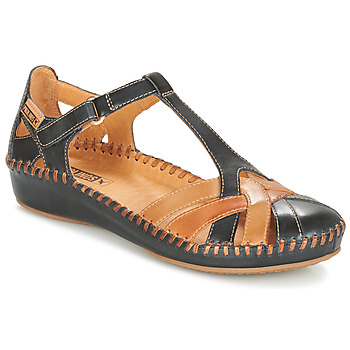 Chaussures Femme Sandales et Nu-pieds Pikolinos P. VALLARTA 655 Marine / Camel