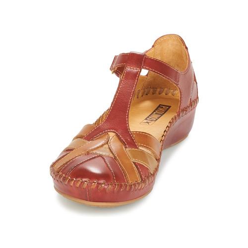 Pikolinos PVallarta Femme Sandales Nu 655 Marron Et Chaussures pieds POXiZuk