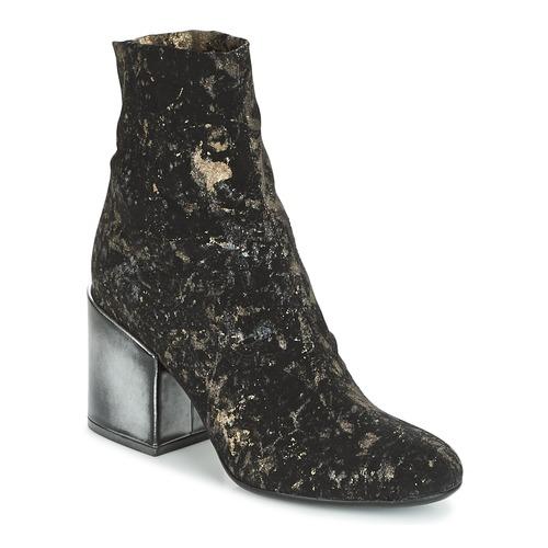Now LUNA Noir - Livraison Gratuite avec  - Chaussures Bottine Femme