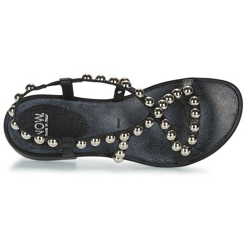 Femme Nu Noir Sandales pieds Santiago Et Now qzpSVUM