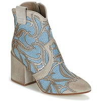 Chaussures Femme Bottines Now MOVIDA Beige / Jeans