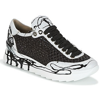 pretty nice 2f3c8 27baf Chaussures Femme Baskets basses Now CARK Noir  Blanc