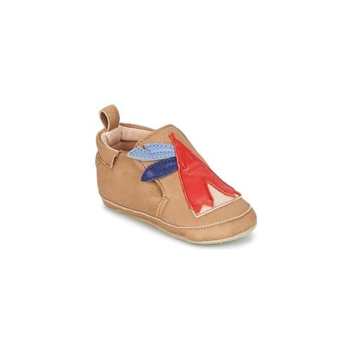 Chaussures Garçon Chaussons bébés Shoo Pom CHOU TIPI Nougat