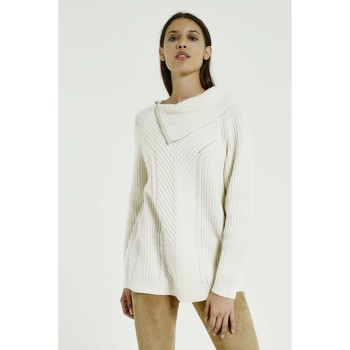 Vêtements Femme Pulls Max & Moi Pull NAJETTE Femme Collection Automne Hiver Blanc