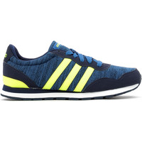 Chaussures Enfant Baskets basses adidas Performance V Jog K Navy / Yellow