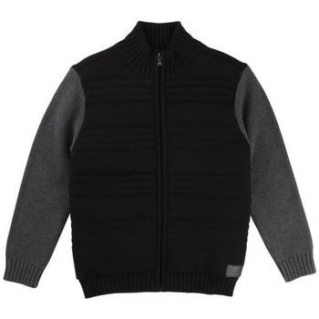 Vêtements Garçon Sweats HUGO Cardigan Hugo Boss Cadet - Ref. J25B50-09B Noir