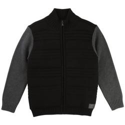 Vêtements Garçon Sweats Hugo Boss Junior Junior Cardigan Hugo Boss Junior - Ref. J25B50-09BJ Noir