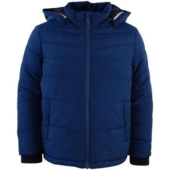 Vêtements Garçon Doudounes HUGO Doudoune Hugo Boss Junior - Ref. J26324-804J Bleu