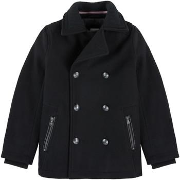 Vêtements Garçon Trenchs HUGO Caban Hugo Boss Junior - Ref. J26328-09BJ Noir