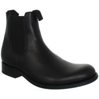 Chaussures Homme Boots Gardian Boots gardianne en cuir  ref_sen41602-noir noir