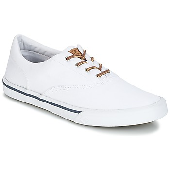 ae80a4131d195 Chaussures Homme Baskets basses Sperry Top-Sider STRIPER II CVO WASHED Blanc