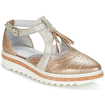 Chaussures Femme Derbies Regard RASTANU Bronze