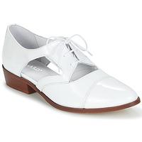 Chaussures Femme Derbies Regard RELAX Blanc