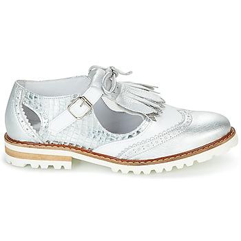 Chaussures Femme Derbies Regard RETAZO Blanc ...