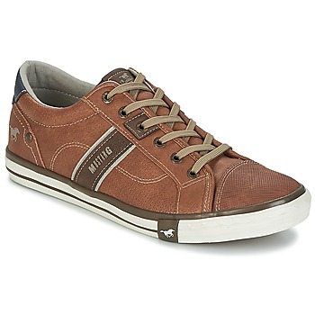 Chaussures Homme Baskets basses Mustang FILI Cognac