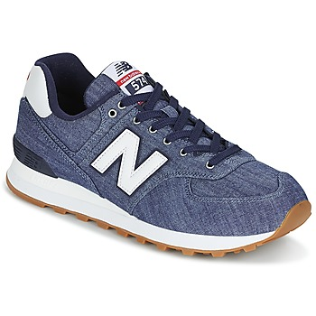 Chaussures Baskets basses New Balance ML574 Indigo
