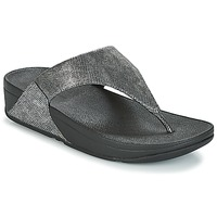 Chaussures Femme Sandales et Nu-pieds FitFlop LULU TOE-THONG SANDALS Silver