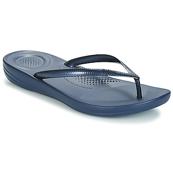 Chaussures Femme Tongs FitFlop IQUSHION ERGONOMIC FLIP-FLOPS Bleu