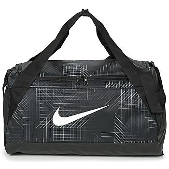 Sacs Sacs de sport Nike BRASILIA SMALL Noir / Blanc