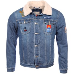 Vêtements Enfant Vestes en jean French Kick homme -  jacket    Forest 4051982248627