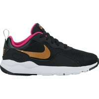 Chaussures Fille Baskets basses Nike Girls'  LD Runner (PS) Pre-School Shoe NEGRO