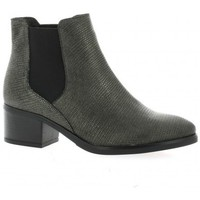 Chaussures Femme Bottines We Do Boots cuir python Argent