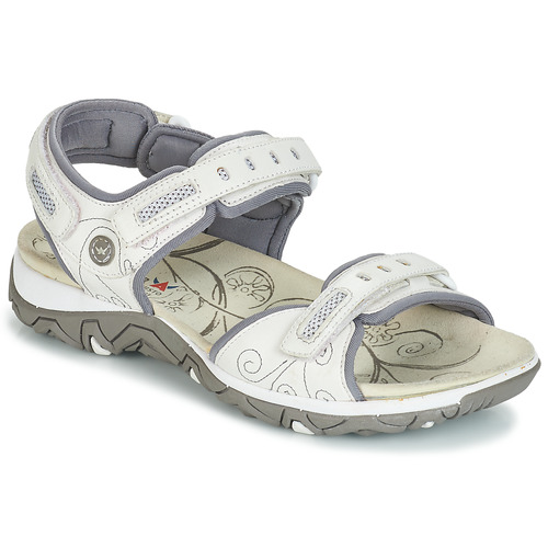 Chaussures Femme Sandales sport Allrounder by Mephisto LAGOONA Blanc