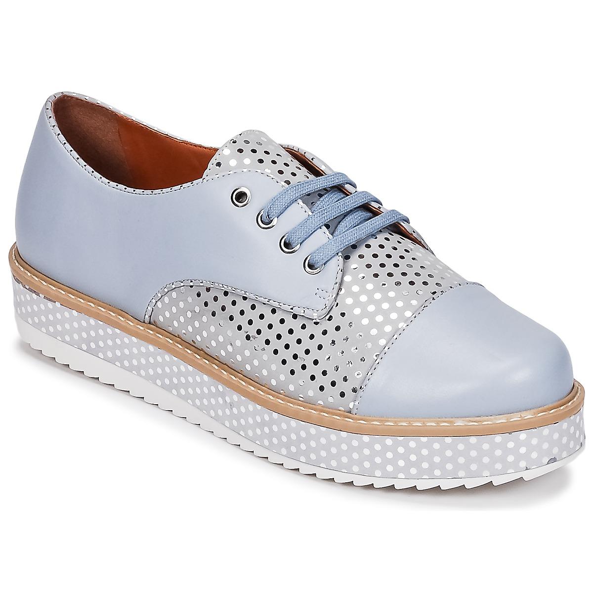 Cristofoli FILIPY Bleu - Livraison Gratuite avec  - Chaussures Derbies Femme