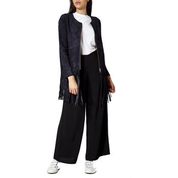 Vêtements Femme Vestes en cuir / synthétiques Minimum NAPPA Bleu Galaxie