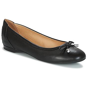 Chaussures Femme Ballerines / babies Geox LAMULAY Noir