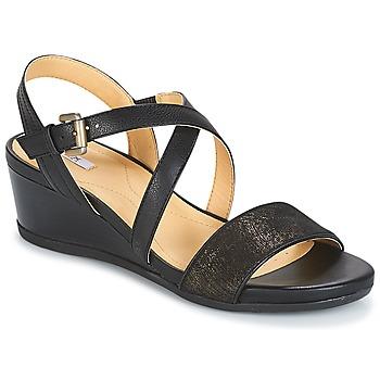 Chaussures Femme Sandales et Nu-pieds Geox MARYKARMEN A Noir